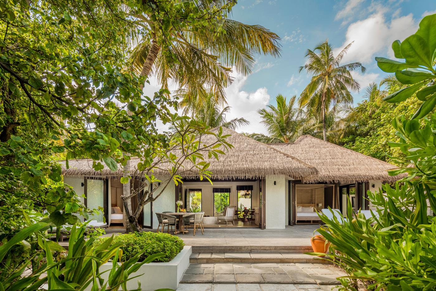 Außenansicht einer Beach Villa