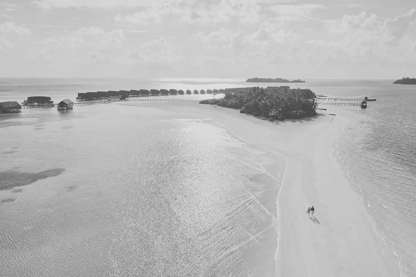 Sandbank des COMO Cocoa Island