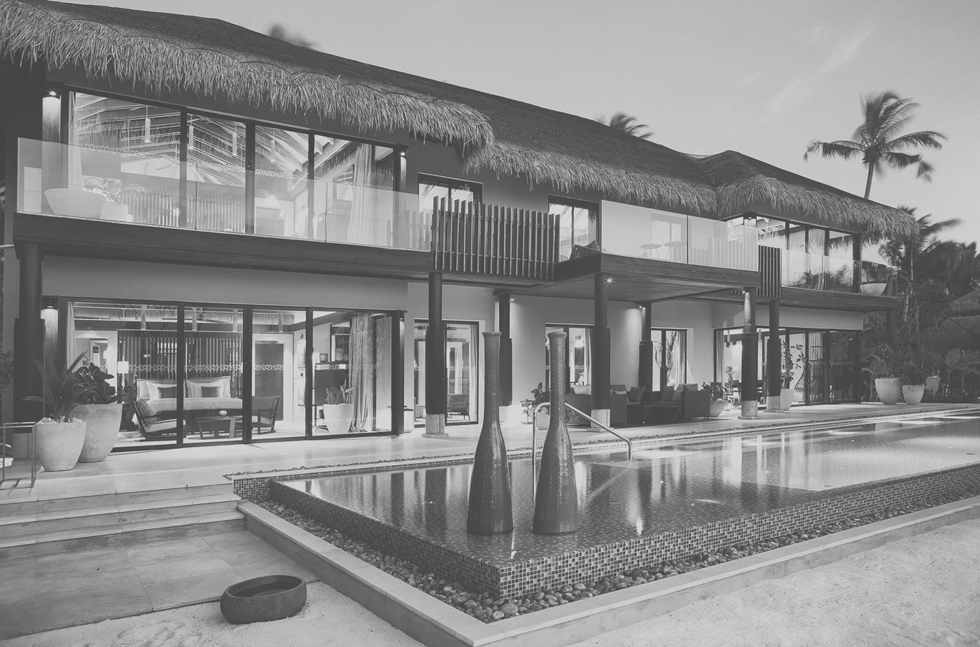Villa Außenansicht Velaa Private Island