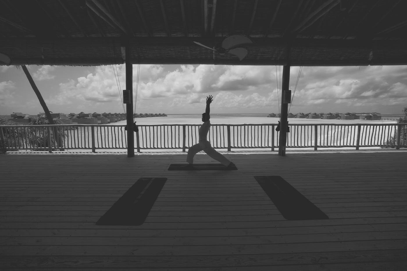Yoga Pavillion im Six Senses Laamu
