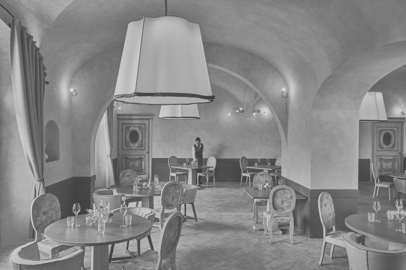 """Innenbereich des Restaurants """"La Torre"""""""